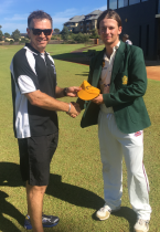 ACC REP Cricket 2018 Baggy Yellow Presentation