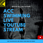 ACC Swimming Live Steaming on YouTube
